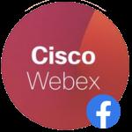 Webex Facebook Logo